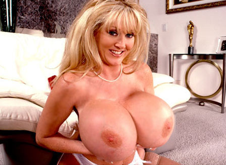 Son blackmails her big tits mother